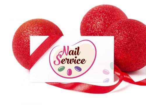 Разработали название и логотип для ногтевого сервиса - Nail Service