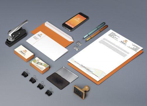 Эверест - разработка логотипа и фирменного стиля