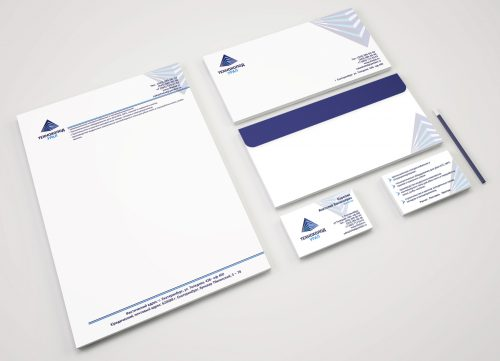 Разработали фирменный бланк и конверт для компании Технохолод Урал