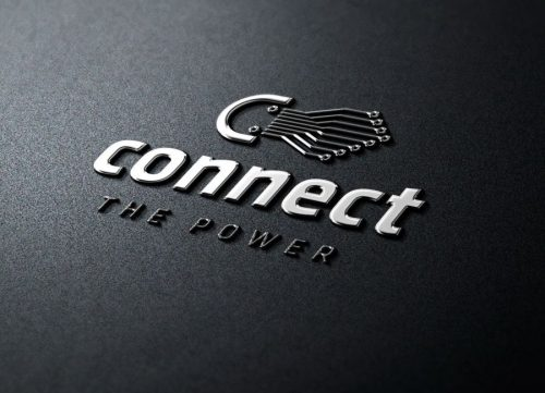 Connect - логотип для зарядного устройства