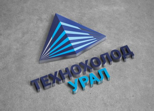 Разработали логотип для компании Технохолод Урал