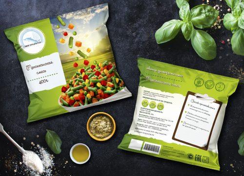 Разработали концепт упаковки для линейки смесей бренда - Мир Продуктов