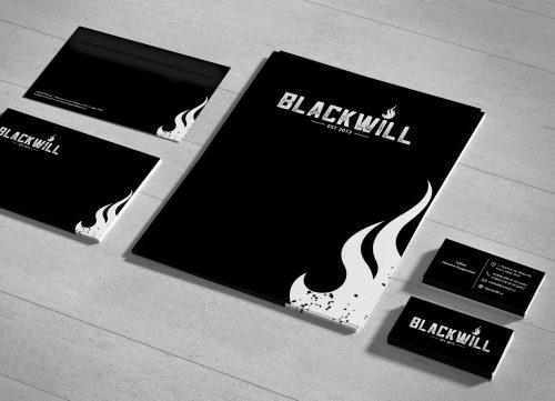 Разработали фирменный стиль для производителя печей - Blackwill