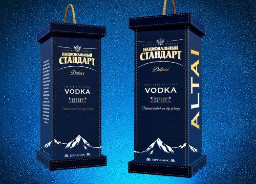 Разработали дизайн коробки для нового водочного бренда - Национальный стандарт