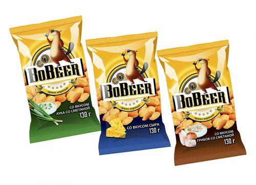 Дизайн упаковки для орешков