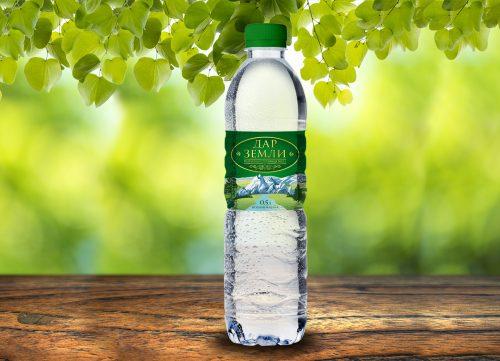 Этикетка для минеральной воды